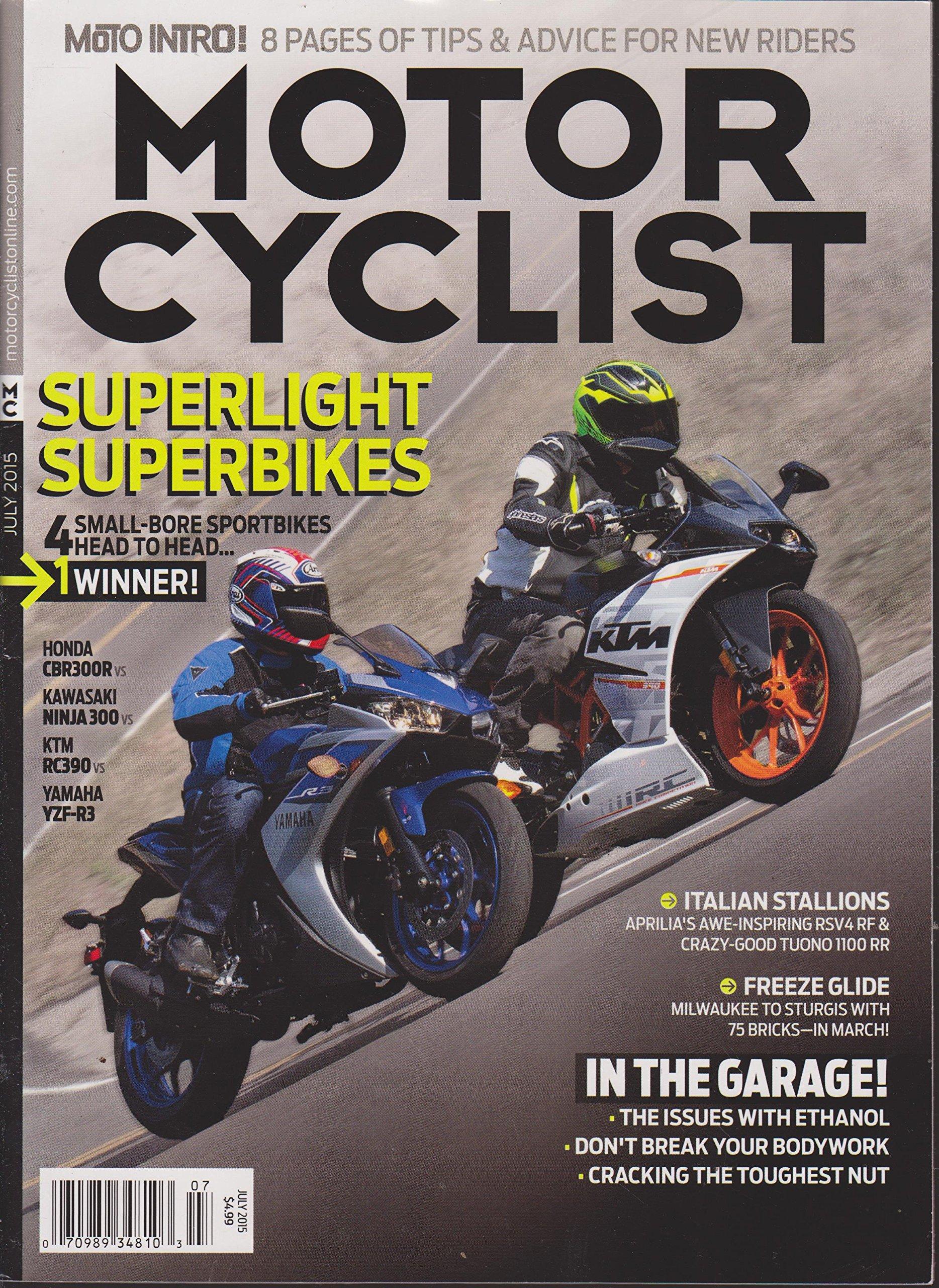 Motorcyclist Magazine July 2015: Amazon.com: Books