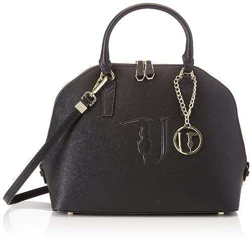 by Trussardi Womens Top-Handle Bag black black Trussardi 3nxbDXaffE