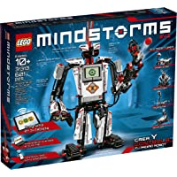 LEGO MINDSTORMS EV3 31313 Robot Kit with Remote Control for Kids, Educational STEM Toy for Programming and Learning How to Code