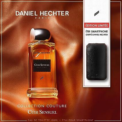 DANIEL HECHTER Coffret Parfum Cuir Sensuel 100 ML avec Etui pour Smartphone 2e4f5daa867