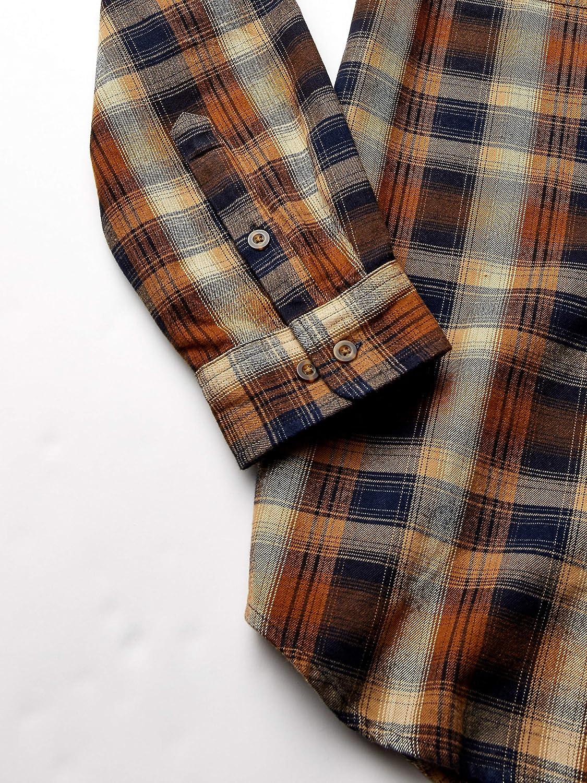 Carhartt Mens Hubbard Flannel Long Sleeve Shirt Regular and Big /& Tall Sizes Shirt