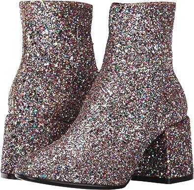 28c1b0ae300c5 Maison Margiela MM6 Women s Glitter Bootie Multicolor Glitter 7.5 B(M) US