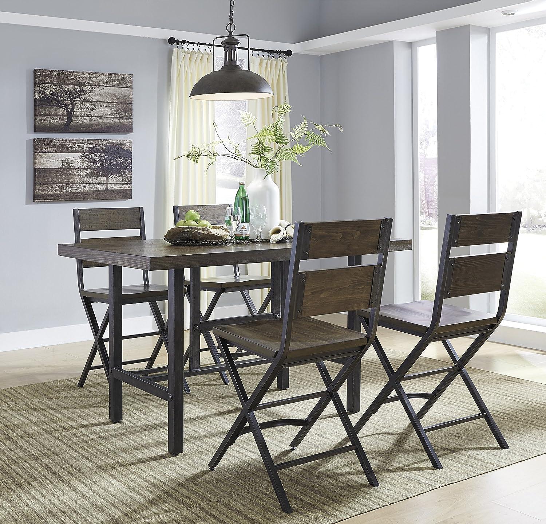 Amazon Kavara Medium Brown Color Rectangle Dining Room