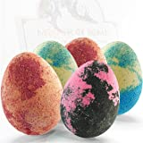 Bath Bombs Gift Set - 5 Dragon Egg Bath Fizzies - 255g Jumbo Bathbombs - UK Made