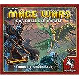 Pegasus Spiele 51865G - Mage Wars - Druidin vs. Nekromant