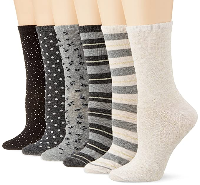 Womensecret 4482433, Calcetines para Mujer, Varios colores, One Size (Tamaño