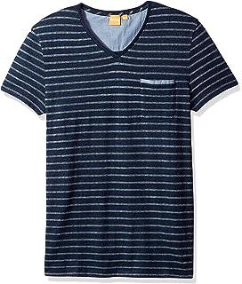 2258ec77 Amazon.com: BOSS RN Tyre Print T Shirt in Black M: Clothing