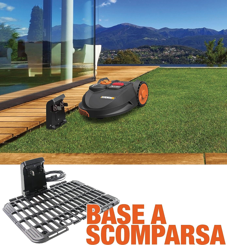450/qm 20/V Schwarz Orange Worx wr102si.1/M/ähroboter Landroid
