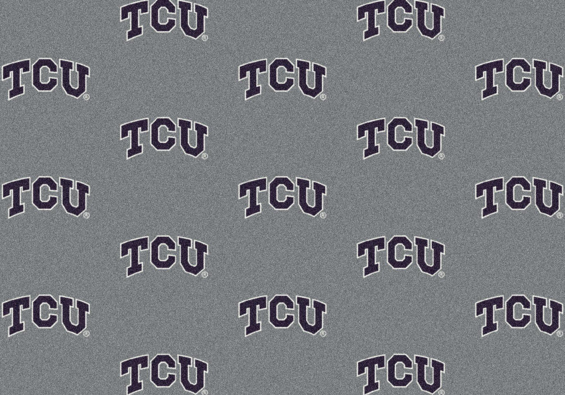 NCAA Team Repeat Rug - Texas Christian Horned Frogs, 5'4'' x 7'8'' by Millilken