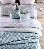 Amazon Com Trina Turk 3 Piece Trellis Comforter Set