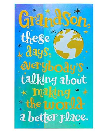 Amazon American Greetings Great Guy Birthday Card For Grandson
