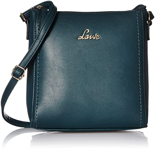 b42bb14ae16 Lavie Jeffrey Women s Sling Bag (Navy)  Amazon.in  Shoes   Handbags