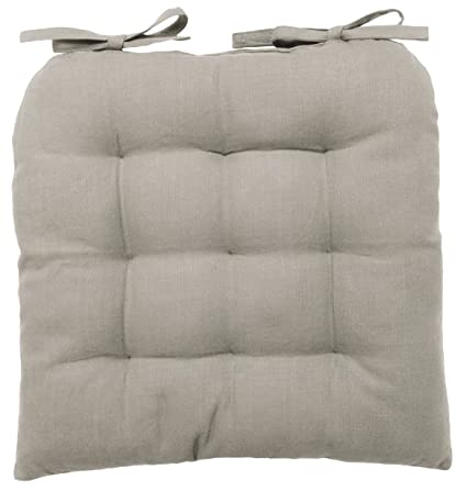 Now Designs Spectrum Chair Pad, Cobblestone Grey