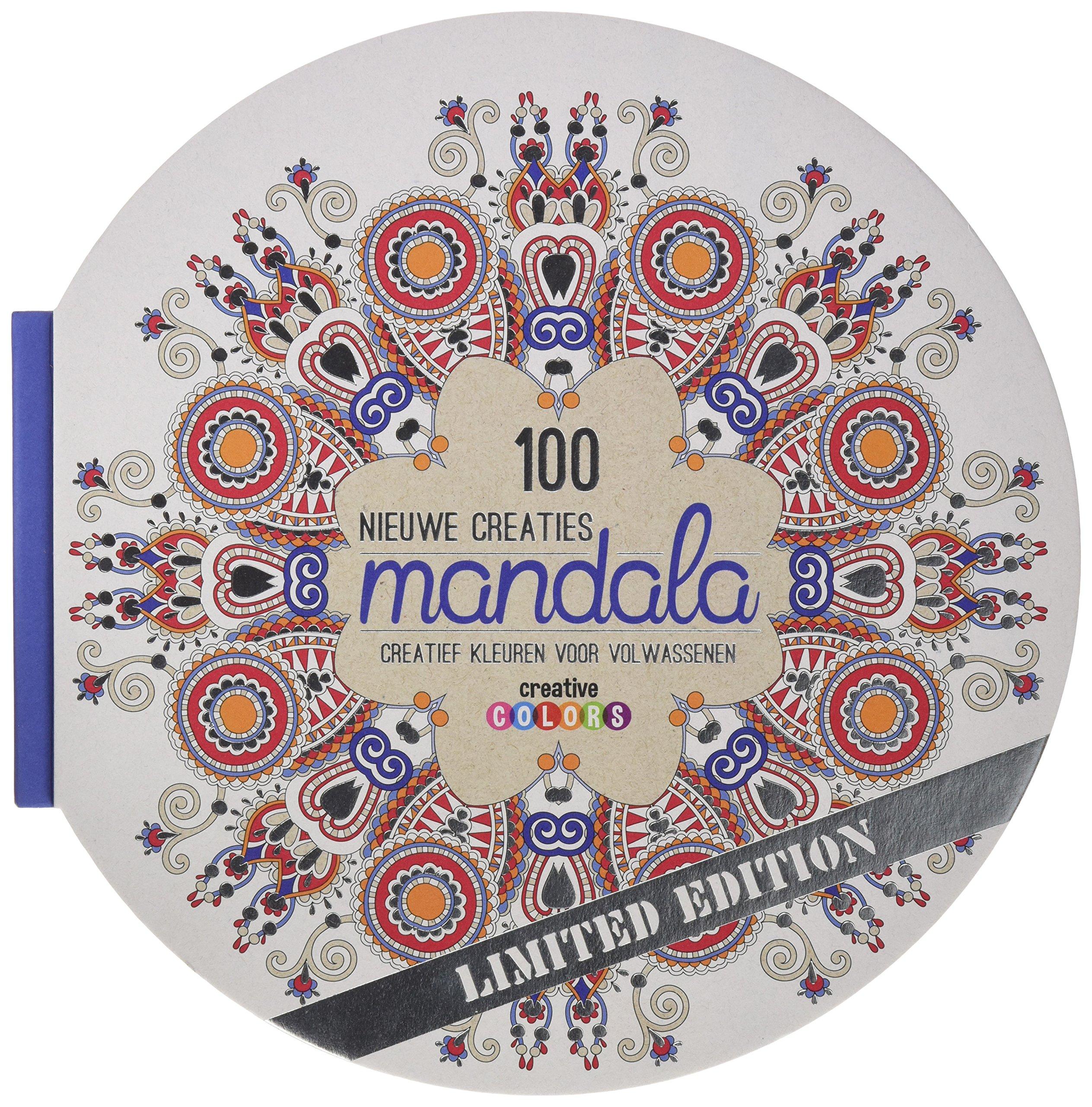 Goede 100 nieuwe creaties mandala: NVT: 9789461887726: Amazon.com: Books ER-13