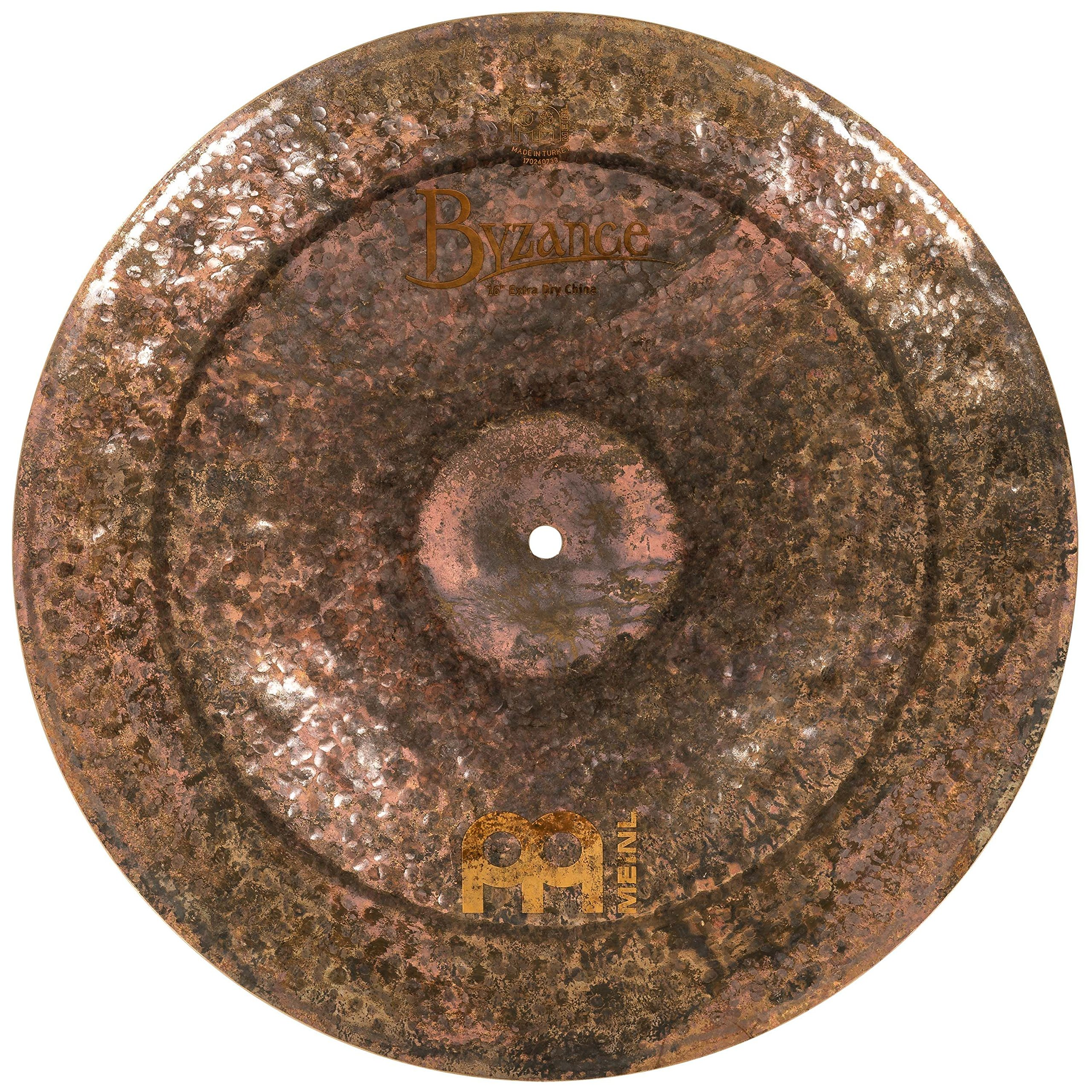 Meinl Cymbals B16EDCH Byzance Extra Dry 16-Inch China Cymbal (VIDEO) by Meinl Cymbals