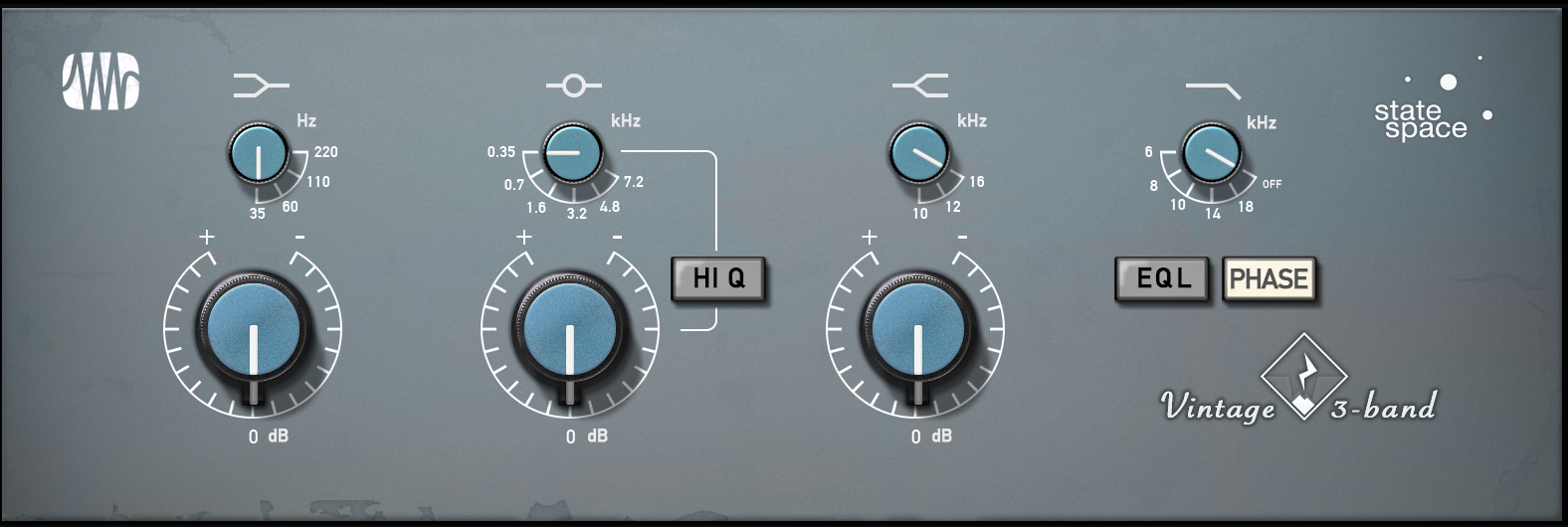 PreSonus Vintage 3-Band EQ Fat Channel Plugin [Online Code] - Eq In Vst Plug