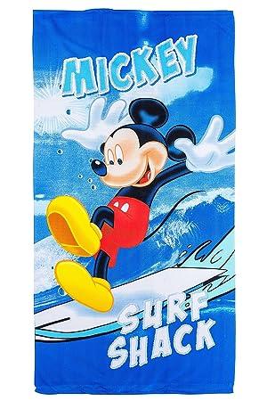 Disney 70x140 cm microfibre Drap de Bain Serviette de plage Mickey