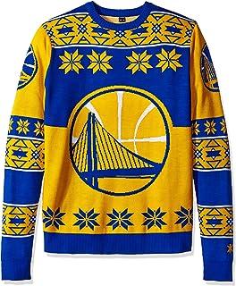 a1bcfc432 Amazon.com   NBA Mens Ugly Light Up Crew Neck Sweater   Sports ...