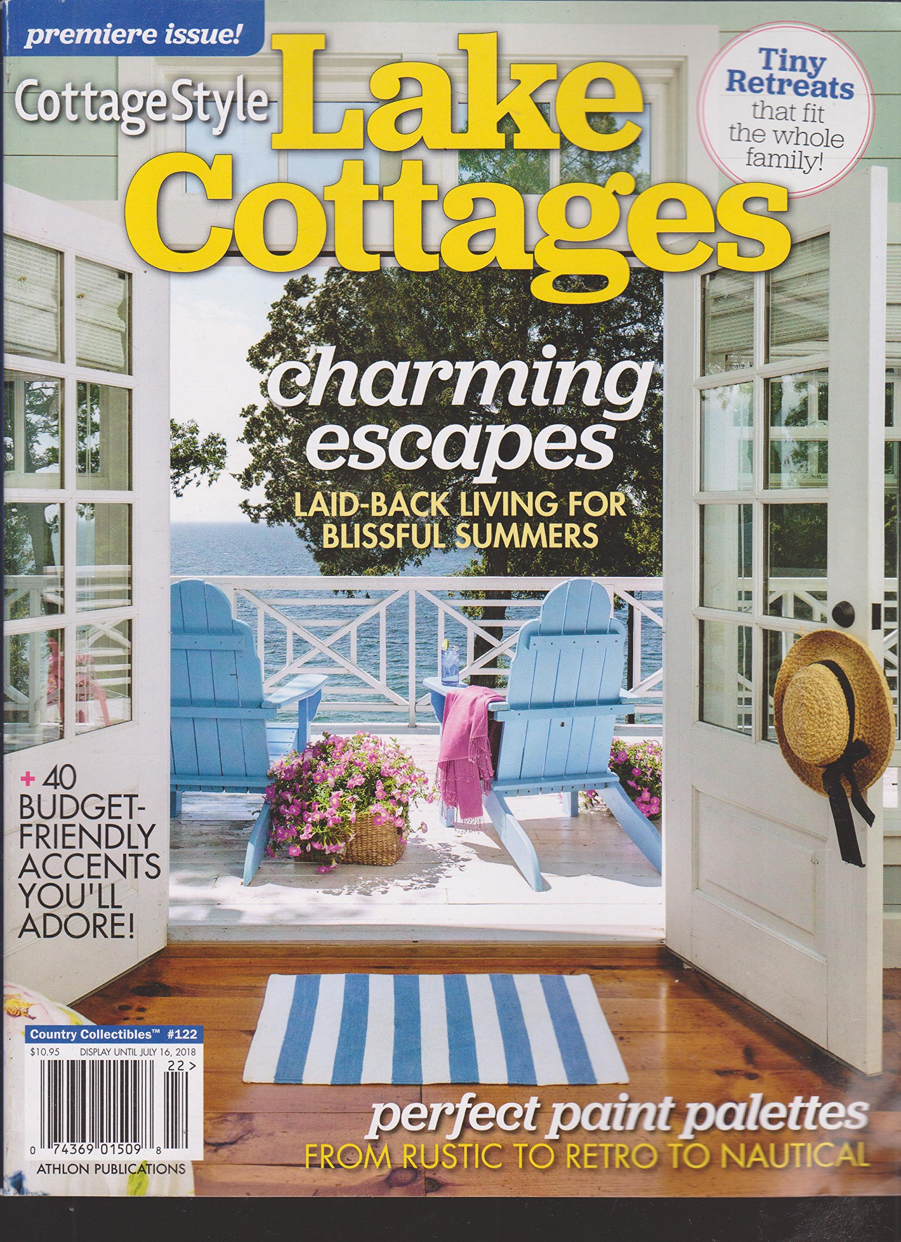 Remarkable Country Style Lake Cottages Magazine Premiere Issue 2018 Home Interior And Landscaping Palasignezvosmurscom