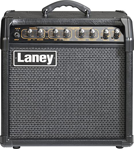 Amazon.com: Laney Amps Linebacker Range LR20 20-Watt 1x8 Guitar Combo Amplifier: Musical Instruments