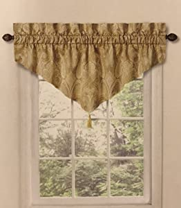 Waverly Home Classics20-in Cashmere Pearl Ascot Valance