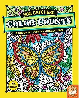 Amazon.com: Color Counts Suncatchers/Tropical/Carnival Coloring ...