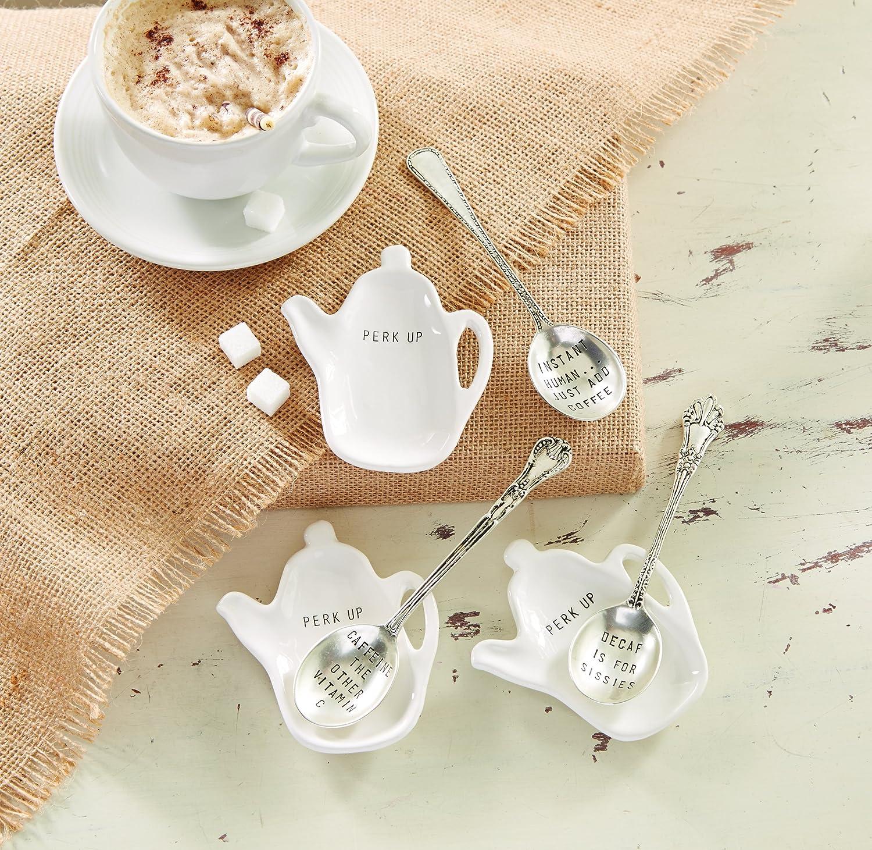 Mud Pie Circa Spoon Rest Set White