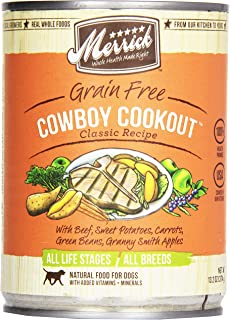 product image for Merrick, Canned Dog Food, 5-Star Cowboy Cookout 13.2 oz.