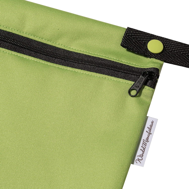 Made in Germany Windelmanufaktur Wetbag atmungsaktive und wasserabweisend Nasstasche gro/ß, rosa