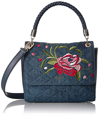 158e678b86 GUESS Heather Top Handle Flap