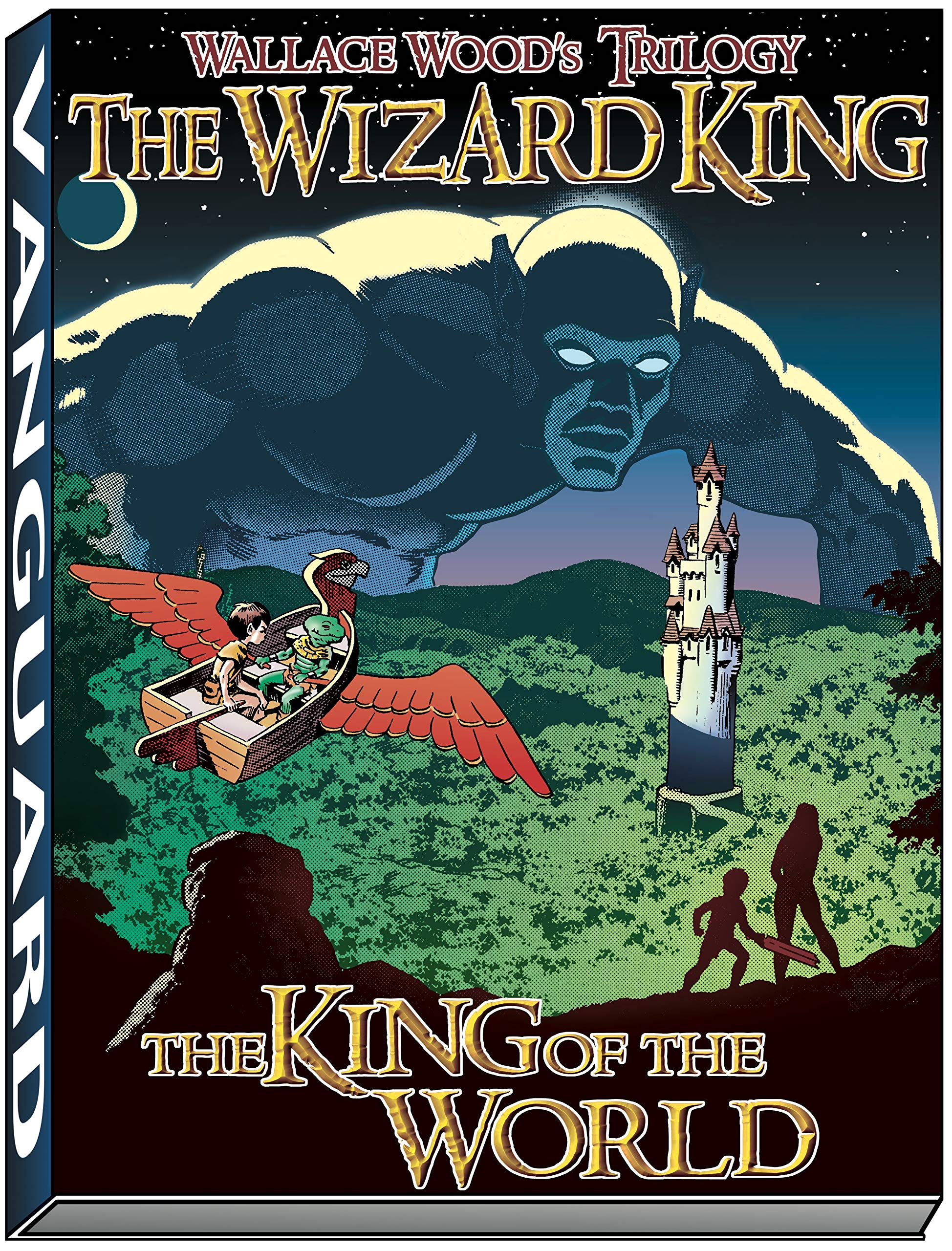 wizard king trilogy book1 king of the world wallace wood wizard king trilogy