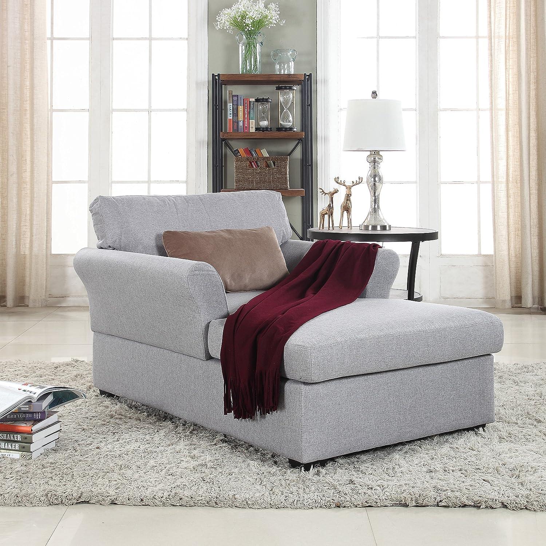 - Amazon.com: Divano Roma Furniture Large Classic Linen Fabric