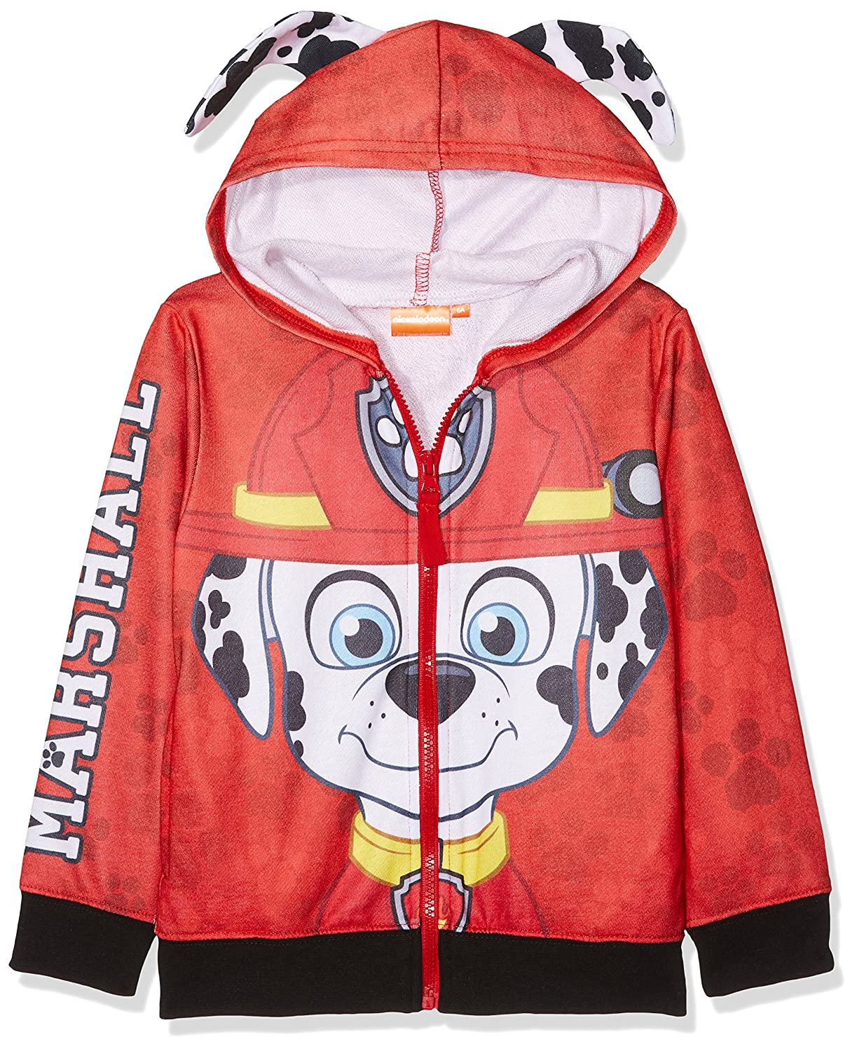 Paw Patrol Pup Faces Childrens Hooded Jumper PAW PATROL BOYS