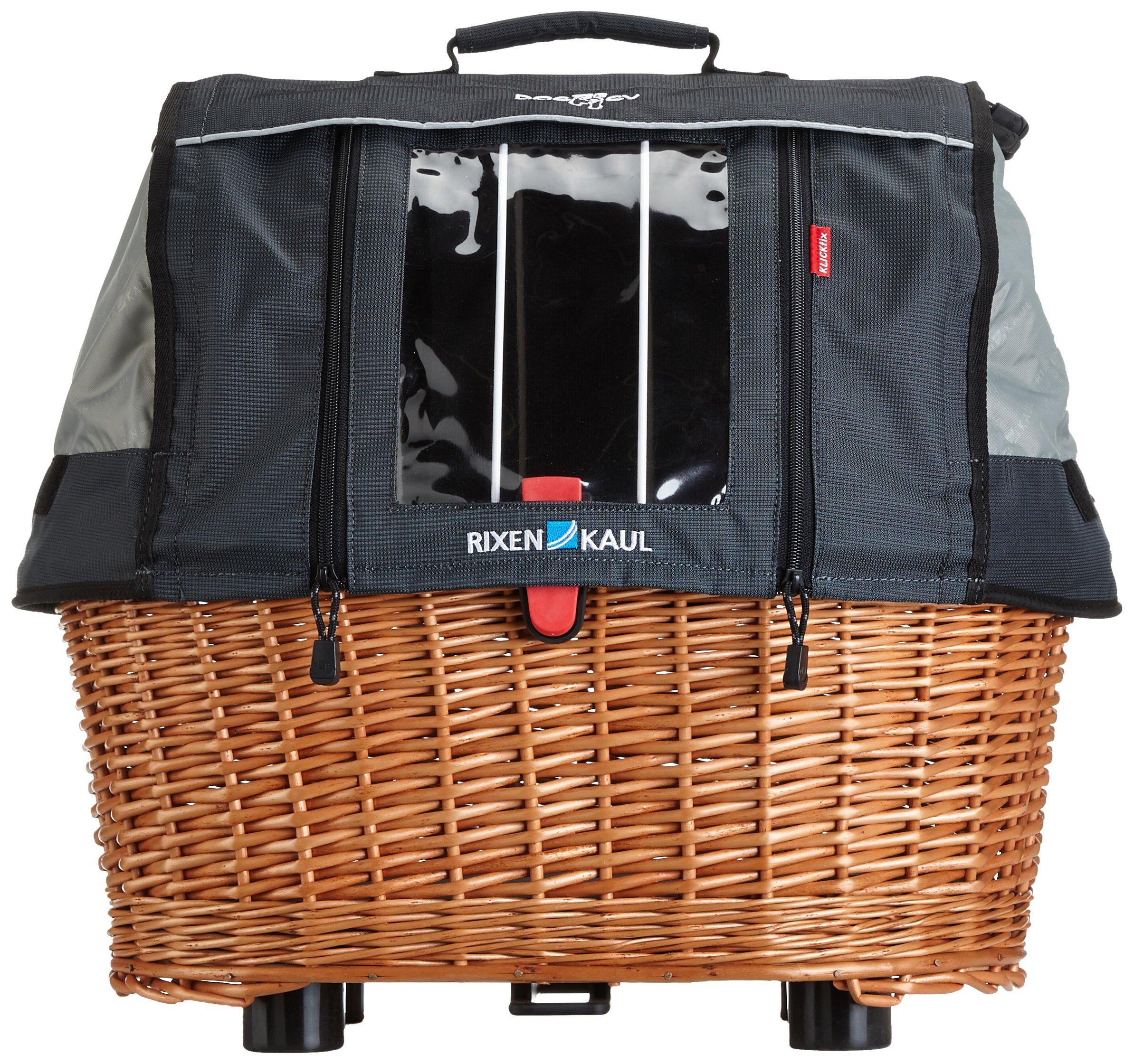 KlickFix rear basket Rixen & Kaul Doggy Basket Plus GTA by KlickFix (Image #1)
