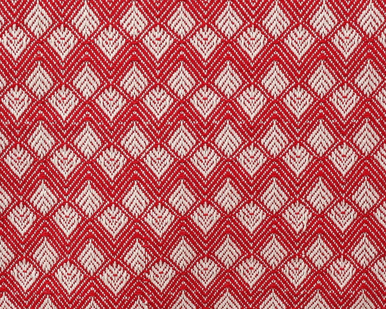 Chemin de Table Mariage 36 x 182 cm Beige Diamant festonn/é Vintage Lavable en Machine Clinique du coton Chemin de Table Coton