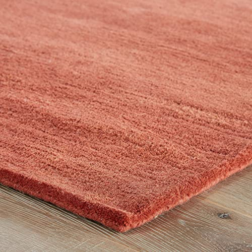 Jaipur Living Bough Hand-Tufted Abstract Orange Area Rug 9 6 X 13 6