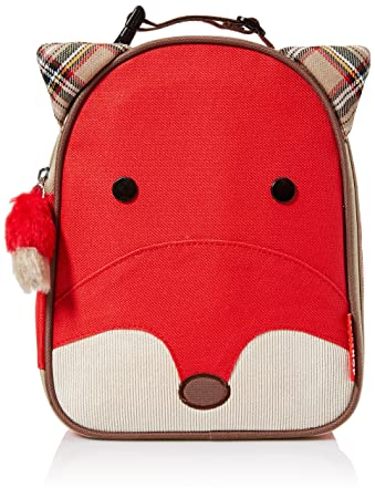 14cfa6a481 Amazon.com   Skip Hop Baby Zoo Little Kid and Toddler Insulated and  Water-Resistant Lunch Bag