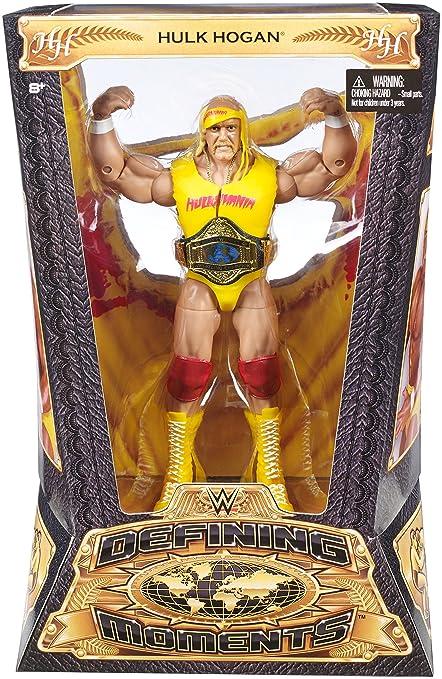 Wwe Promo Figure 1 Hulk Hogan Figures Amazon Canada