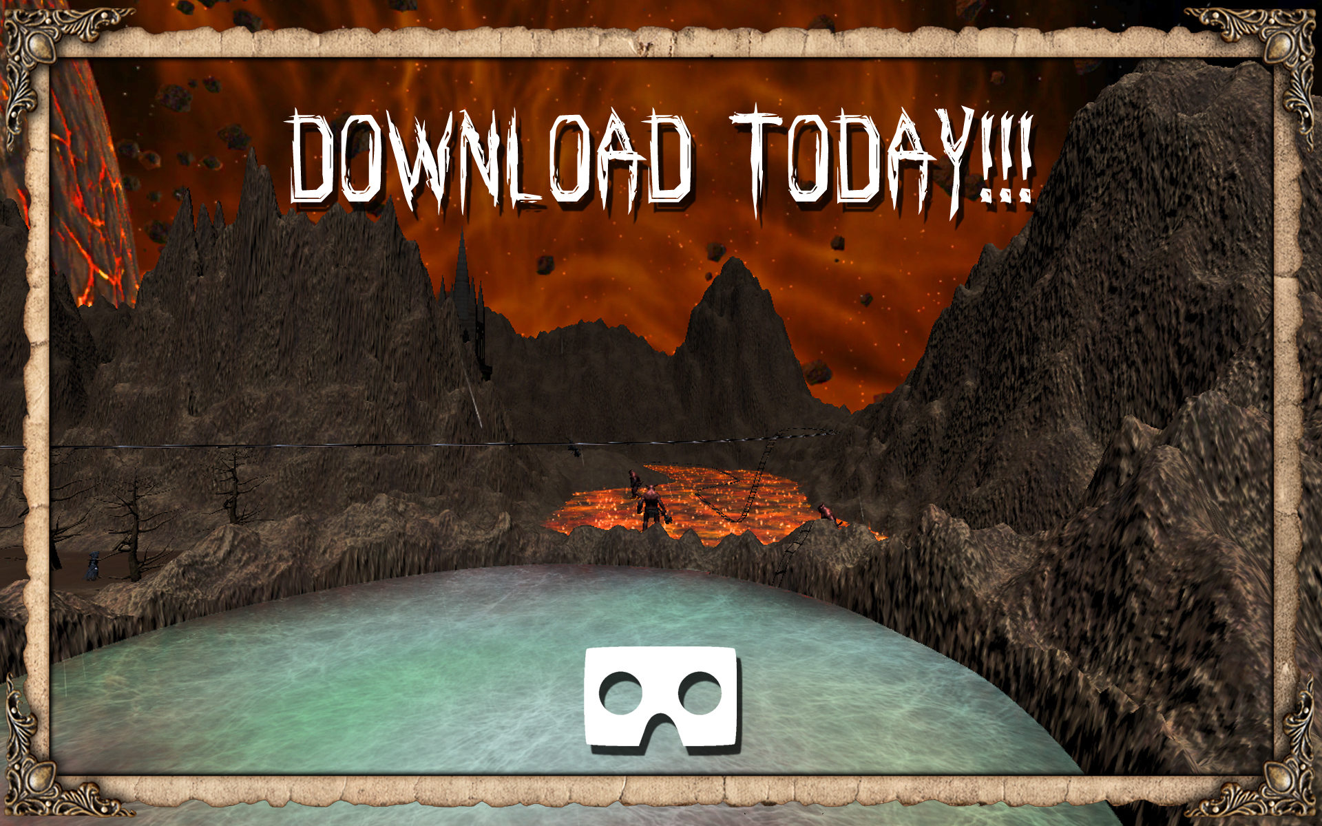 9e7278dbf7b3 Amazon.com  VR Hell Journey Horror Ride (Google Cardboard)  Appstore for  Android