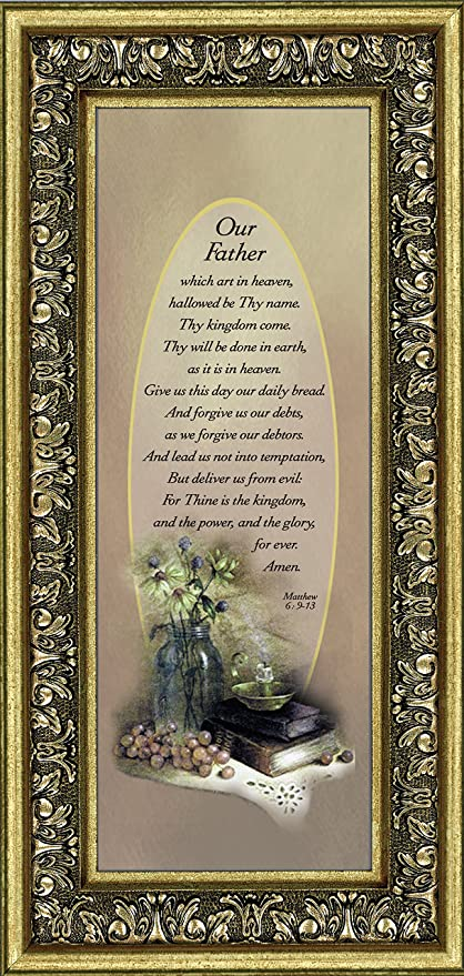 Amazon Frames Of Mind Lords Prayer The Lords Prayer Wall