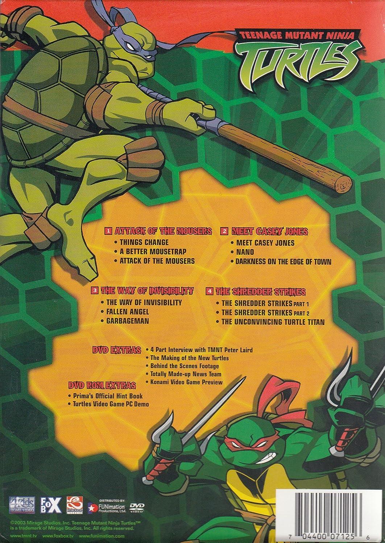 Amazon.com: Teenage Mutant Ninja Turtles (Box Set #1 ...