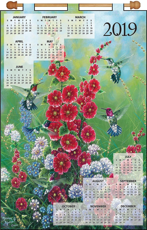 Hummingbirds 2019 Felt Calendar Tobin DW4310