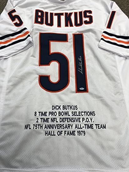 card jersey Butkus dick