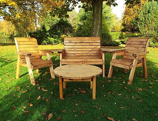 Muebles de jardín – de madera muebles de jardín – Madera – banco ...