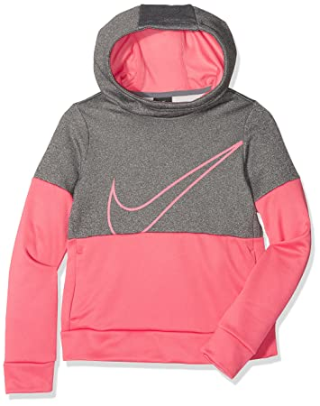 4f02f4a1b Nike Girls 'Therma Training Hoodie Felpa, Bambina: Amazon.it: Sport ...