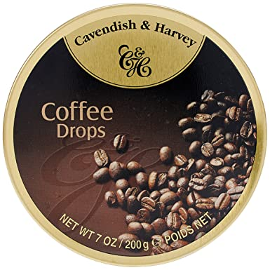 Cavendish Caramelos con Café - 1 Paquete de 9 x 19.44 gr - Total: 175