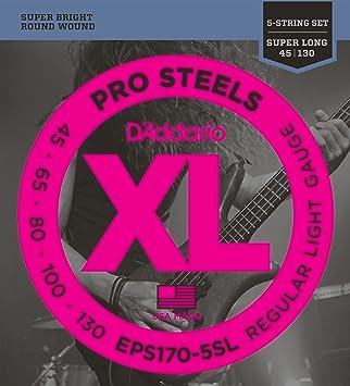 D/'Addario NYXL Bass Guitar Strings gauges 45-100 super long scale