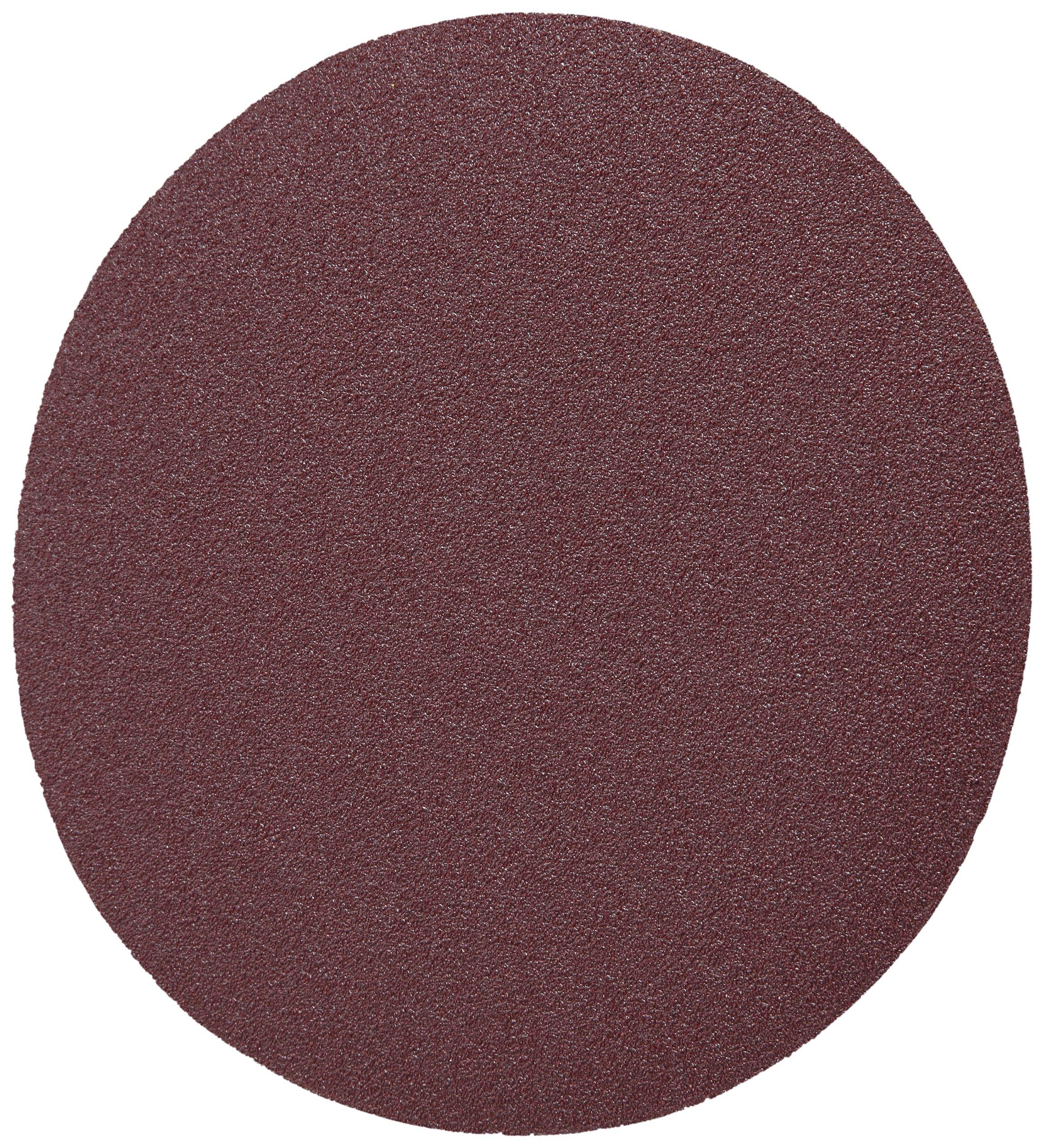 3M Stikit  Cloth Disc 202DZ, J-Weight Cloth, PSA Attachment, Aluminum Oxide, 5'' Diameter, 80 Grit (Pack of 50)