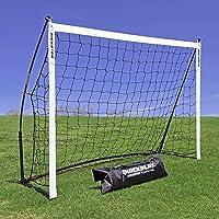 QUICKPLAY Kickster Academy Soccer Goal Range – Ultra Portable Soccer Goal Includes Soccer Net and Carry Bag [Single Goal…