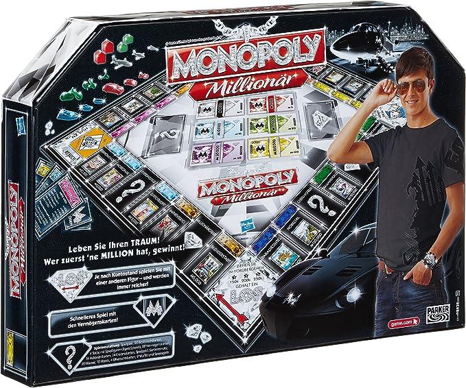 Hasbro Juegos en Familia Monopoly Millonario versión en Italiano: Amazon.es: Juguetes y juegos